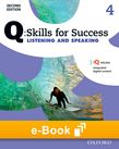 Q Skills for Success Level 4 Listening & Speaking e-book cover