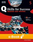 Q Skills for Success Level 5 Reading & Writing e-book cover