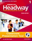 American Headway One Student Book Classroom Presentation Tool cover
