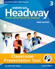 American Headway Three Student Book Classroom Presentation Tool cover