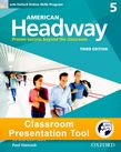American Headway Five Student Book Classroom Presentation Tool cover
