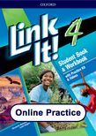 Link It! Level 4 Online Practice cover