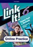 Link It! Level 6 Online Practice cover