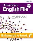 American English File Starter Workbook e-book cover