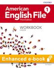American English File Level 1 Workbook e-book cover