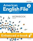 American English File Level 2 Workbook e-book cover