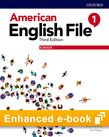 American English File Level 1 Student Book e-book cover