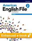 American English File Level 2 Student Book e-book cover