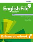 English File 4th edition Intermediate Workbook e-book cover