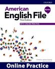 American English File Starter Online Practice cover