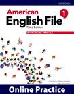 American English File Level 1 Online Practice cover