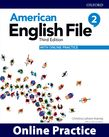 American English File Level 2 Online Practice cover