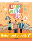 Learn With Us Level 4 Class Book e-Book cover