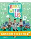 Learn With Us Level 6 Class Book e-Book cover