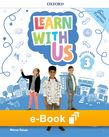 Learn With Us Level 3 Activity Book e-Book cover