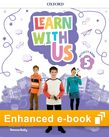 Learn With Us Level 5 Activity Book e-Book cover