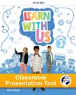 Learn With Us Level 3 Activity Book Classroom Presentation Tool cover