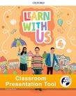 Learn With Us Level 4 Class Book Classroom Presentation Tool cover