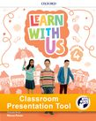 Learn With Us Level 4 Activity Book Classroom Presentation Tool cover