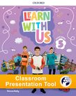 Learn With Us Level 5 Class Book Classroom Presentation Tool cover
