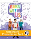 Learn With Us Level 5 Activity Book Classroom Presentation Tool cover