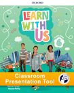 Learn With Us Level 6 Class Book Classroom Presentation Tool cover