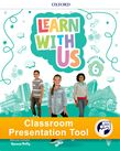 Learn With Us Level 6 Activity Book Classroom Presentation Tool cover