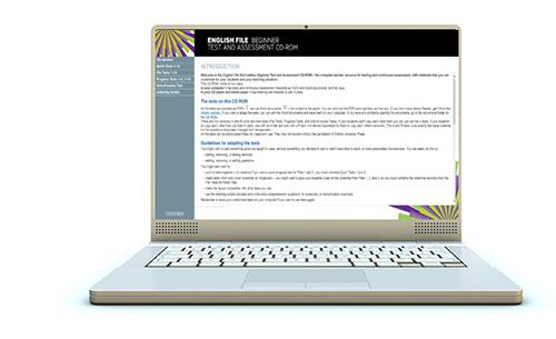 English File Third Edition Computer Screen