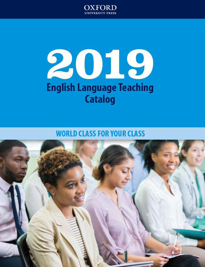 2019 ELT catalog cover
