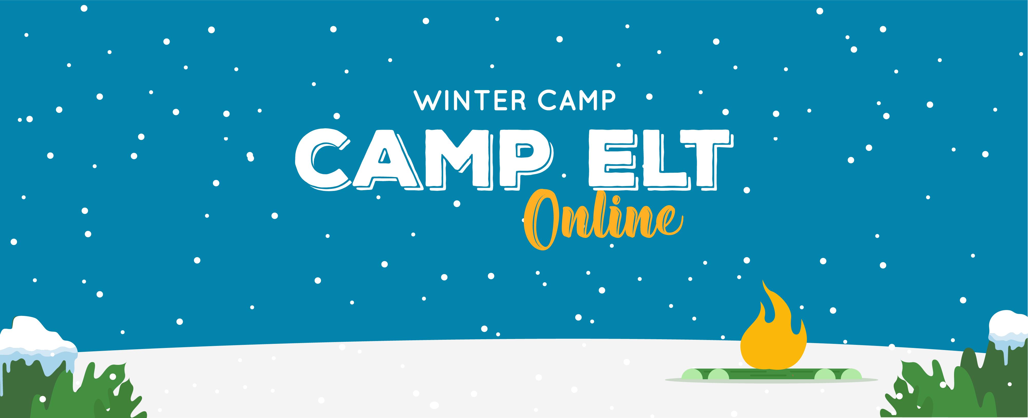 Camp ELT Online Winter Banner
