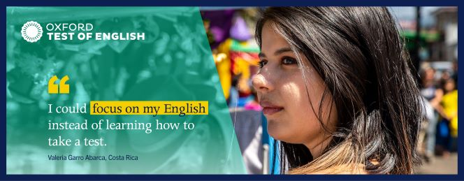 Discover the Oxford Test of English